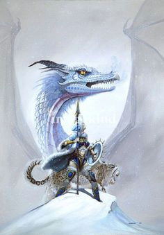 a girl and her western dragon princess painting princess art white dragon dragon