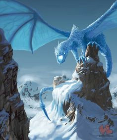 ice dragon by venishi deviantart com dragon tales beautiful dragon fantasy world