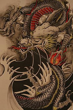 chinese dragon tattoos dragon japanese tattoo chinese dragon drawing bild tattoos skin