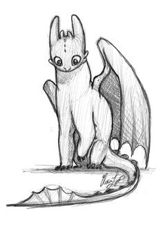 toothless how to train your dragon drawn by elora lyda http cute dragon drawingdragon