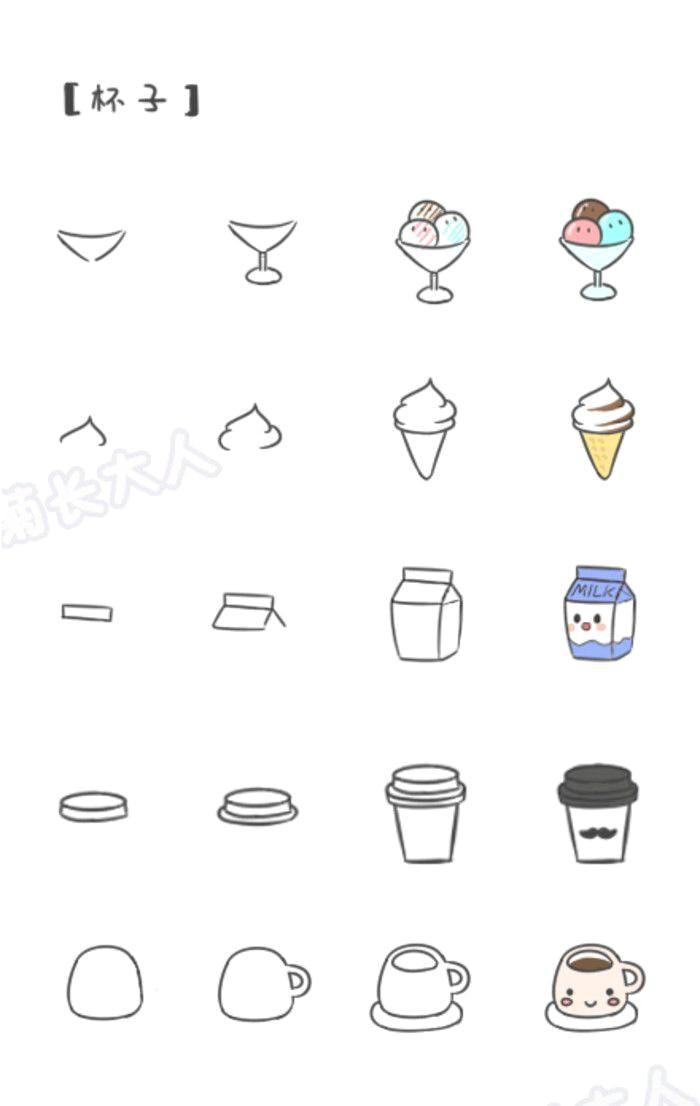 relaterad bild simple cute drawings cute food drawings simple sketches easy doodles drawings