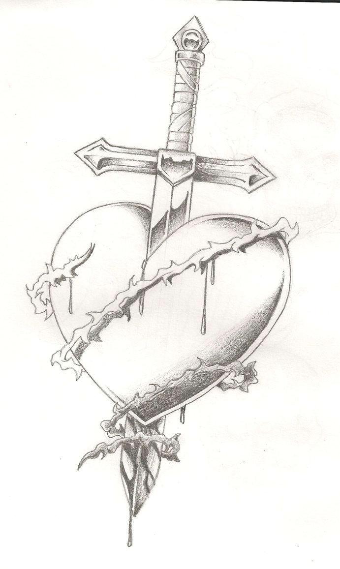 broken heart tattoo bleeding heart tattoo broken heart drawings bleeding rose heart