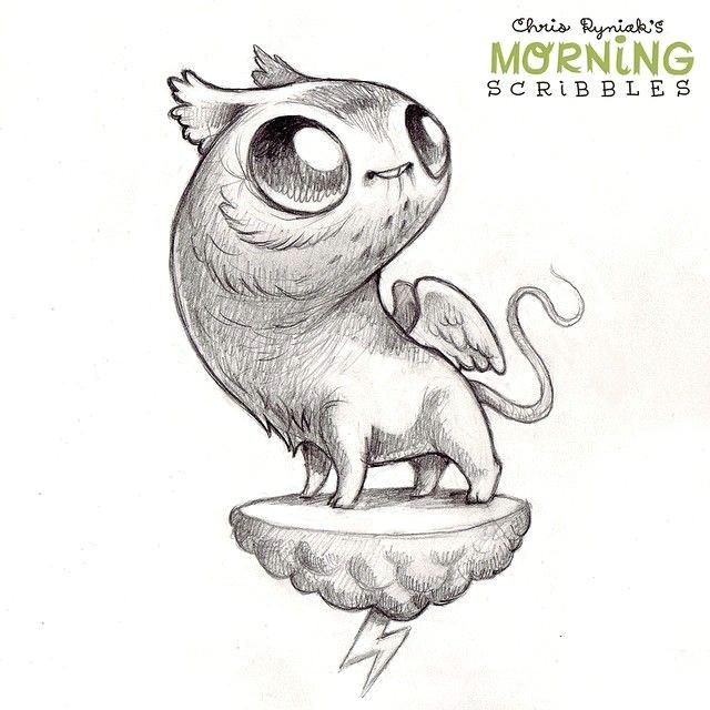 morningscribbles cute monsters drawings cartoon monsters cartoon drawings cute