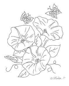 morning glory flower drawings morning glory flower drawing freebie morning glory digi flower images