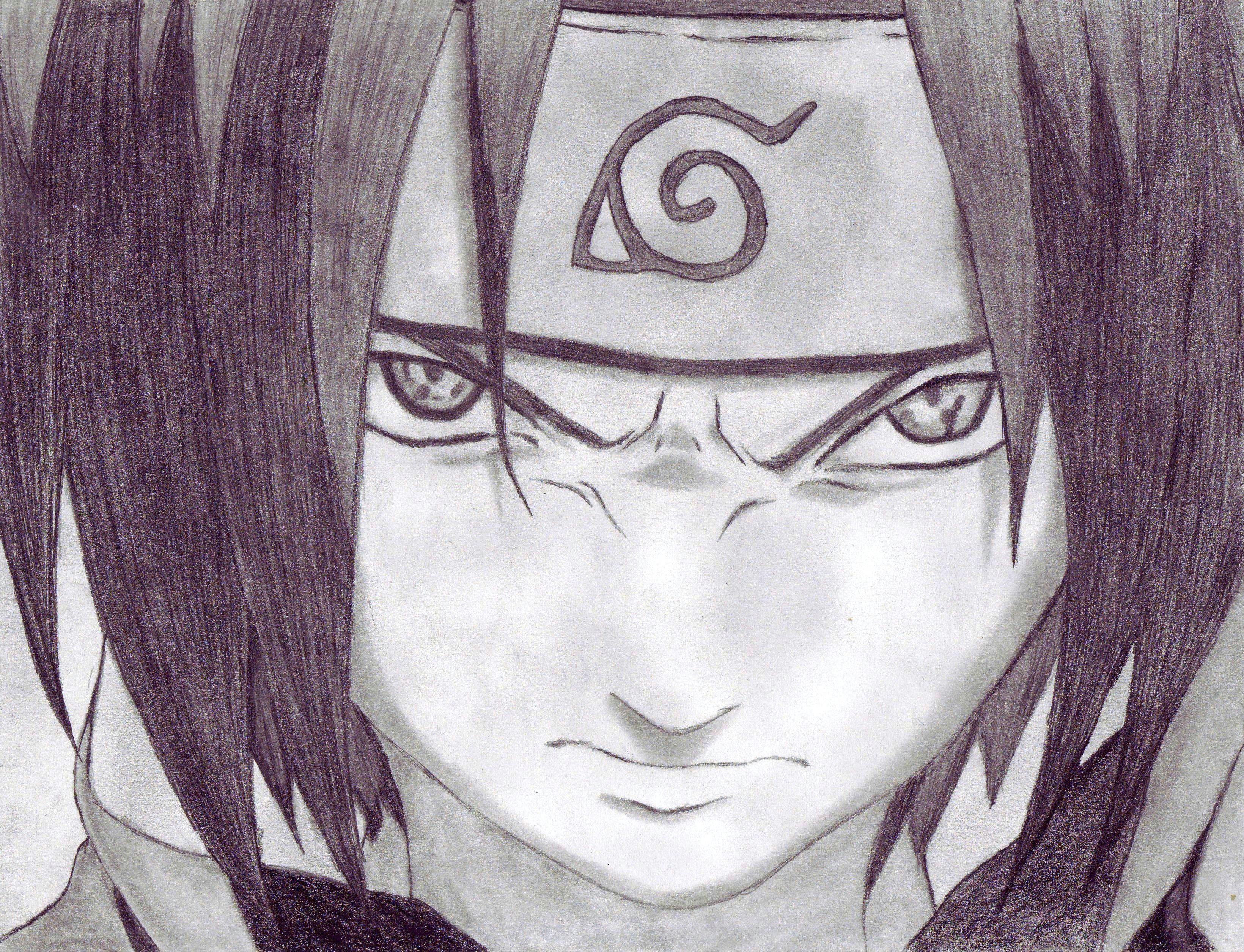 Drawings Of Naruto Eyes My Sasuke Uchiha From Naruto Drawings Drawing Art Naruto