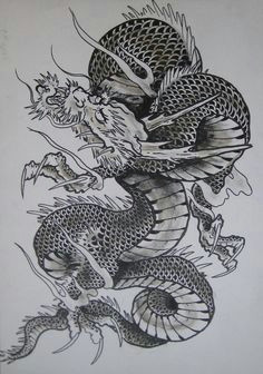 japanese dragon drawing google search dragon tattoo flash dragon occidental japanese dragon tattoos