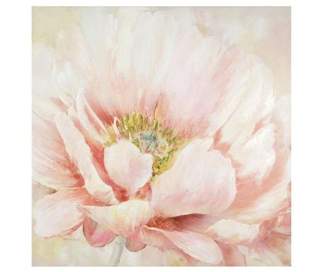 pale pink flower 100x100 cm