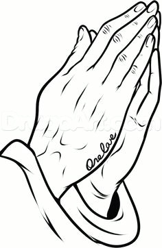 how to draw praying hands tattoo step 10 praying hands clipart praying hands drawing
