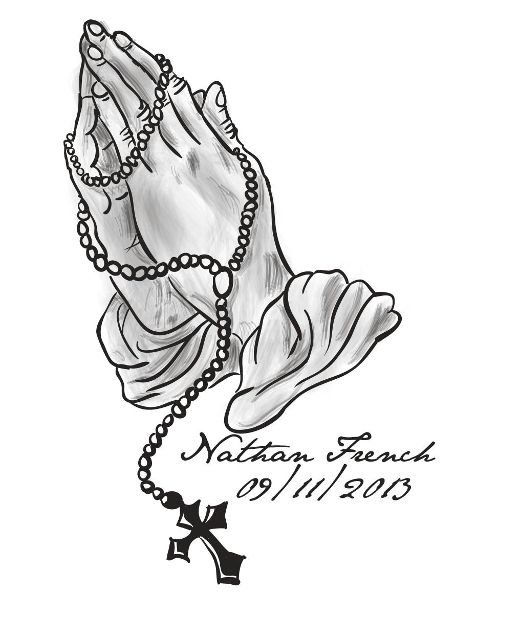 praying hands tattoo designs rosary photo download wallpaper praying