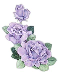 gravuras beautiful flowers lavender roses purple roses pastel purple decoupage paper