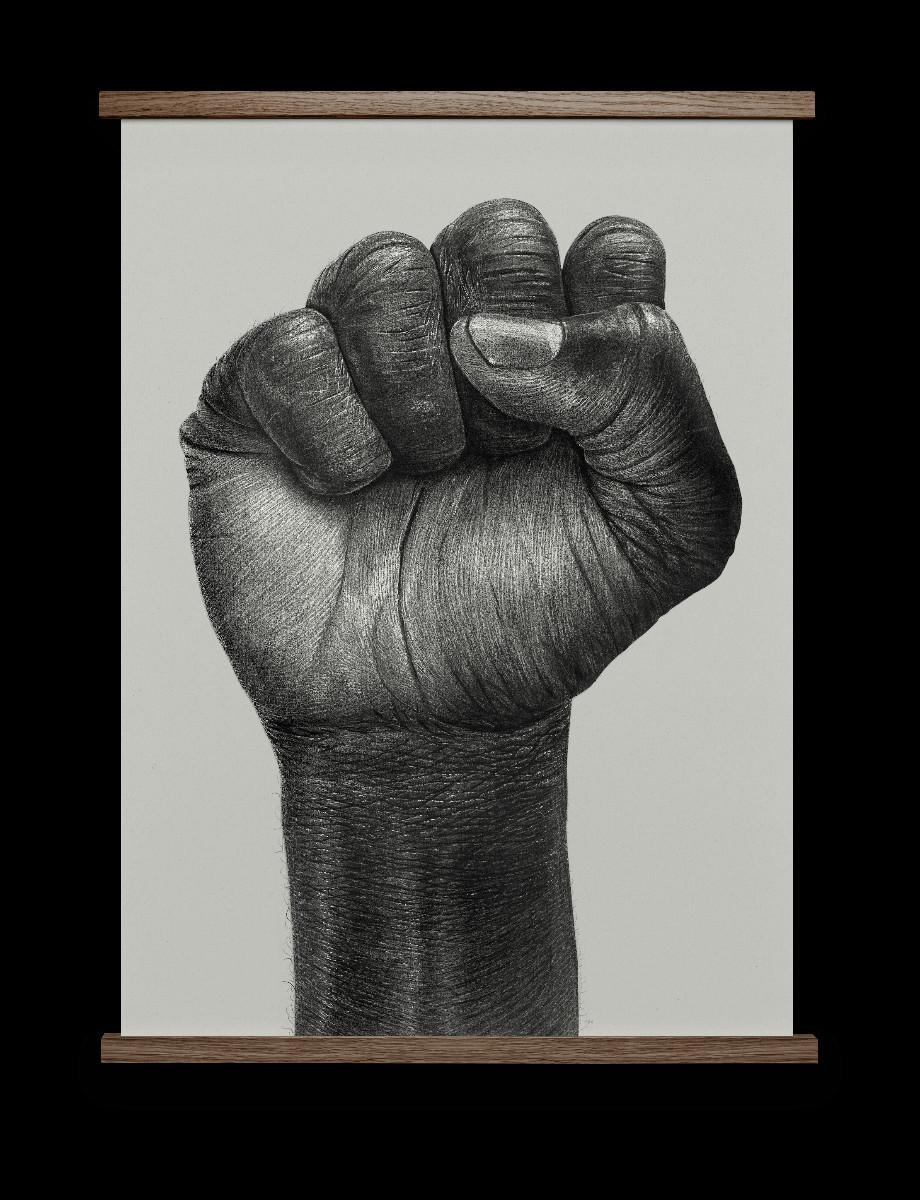 raised fist illustration