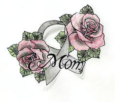 rose drawings with ribbon images