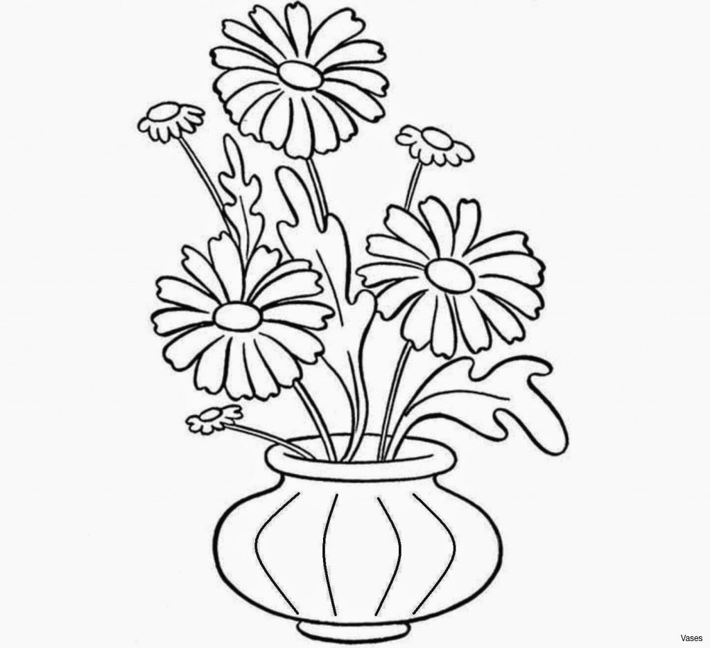 lovely drawn vase 14h vases how to draw a flower in pin rose drawing 1i 0d