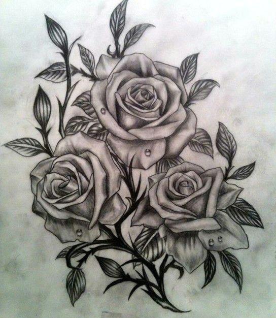 Drawings Of Roses Tattoos 55 Best Rose Tattoos Designs Best Tattoos for Women Ink Love 33
