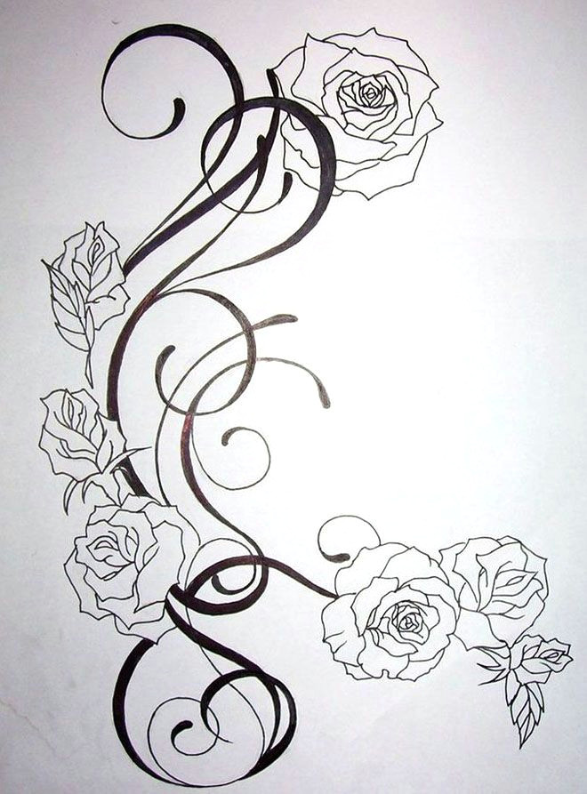 Drawings Of Roses with Color 45 Beautiful Flower Drawings and Realistic Color Pencil Drawings