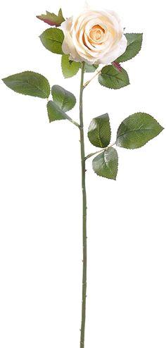 elegant open rose stem choose from 15 colors rose stem open rose artificial