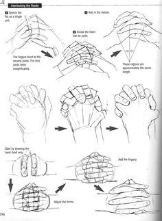 hand poses graphic sha s how to draw manga drawing yaoi interlocking fingers