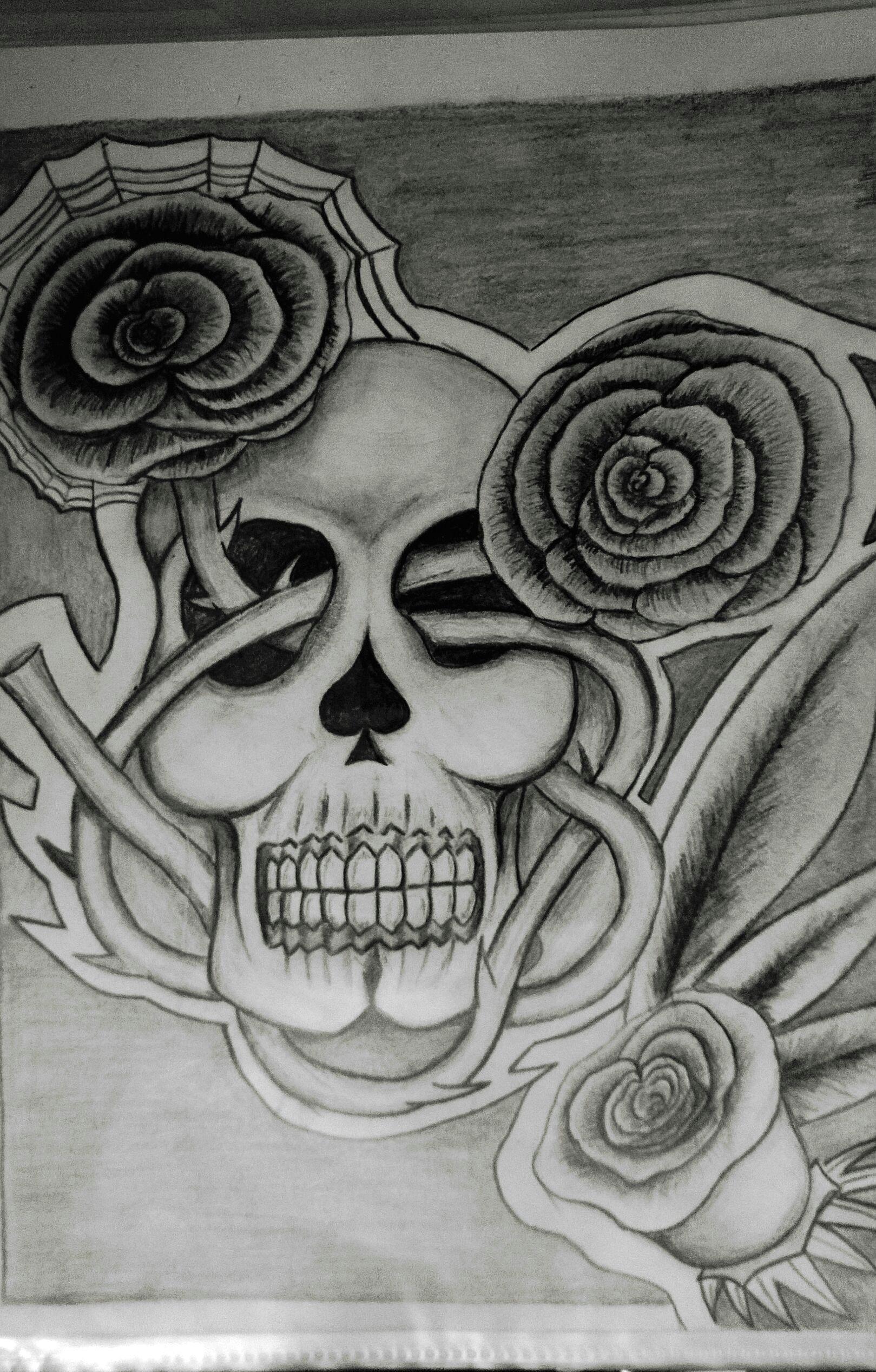skull roses a c simon