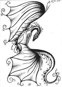 dragon tattoo for women google search make mermaid figure in wings dragon thigh tattoo