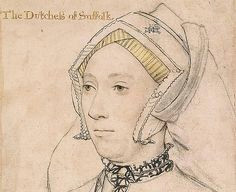 katherine willoughby drawing by hans holbein the younger katherine willoughby the duchess of suffolk