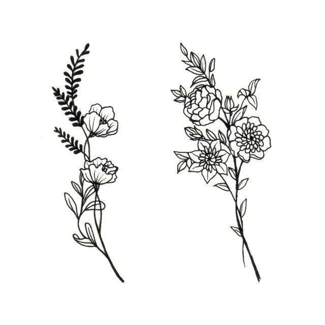 7a1b3e050bc5e13eeb38c4fdc1df5ca7 little flower tattoos dainty flower tattoos jpg