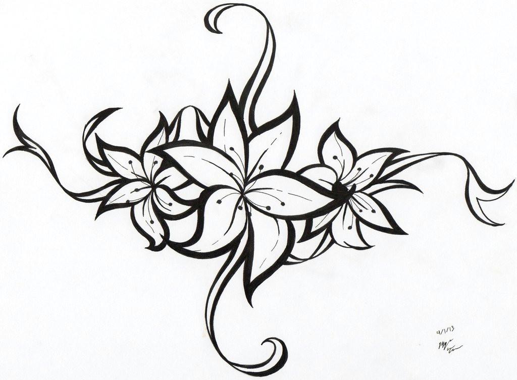 flower tattoo tribal ideas image vector clip art online royalty
