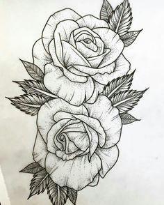 tattoo drawings rose drawing tattoo dessin tattoo tattoo sketches tattoo art