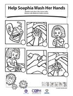 a good worksheet to use during a hand washing unit to explain the proper steps of