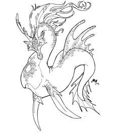 water dragon by mythka