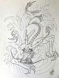 water dragon revamp by stevenworthey on deviantart