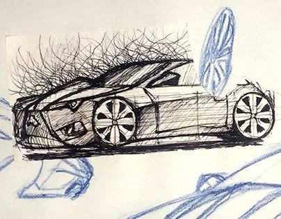 pin by abolfazl toranposhti on car sketches pinterest car sketch sketches and hand sketch