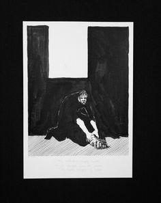 clara lieu student artwork risd printmaking department drawing all to itself course