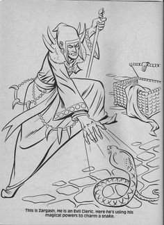 coloring sheets coloring books dungeons and dragons fantasy art print coloring pages vintage coloring books coloring worksheets dungeons and dragons