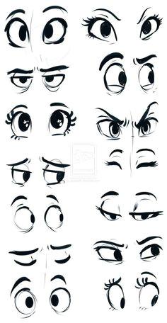 these would make a great halloween door or bulletin board cartoon eyes drawing cartoon