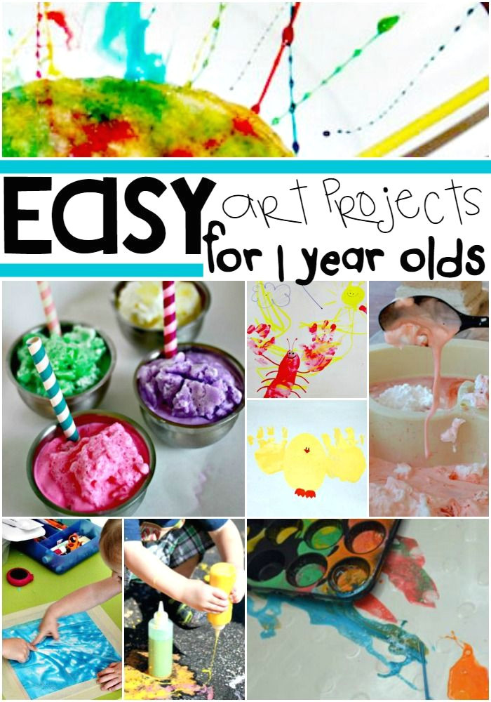 get in touch with your crafty side with these amazing and easy art projects for your littlest artists