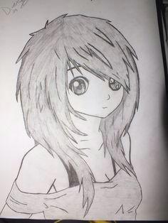 anime girl anime drawings sketchestumblr drawingseasy