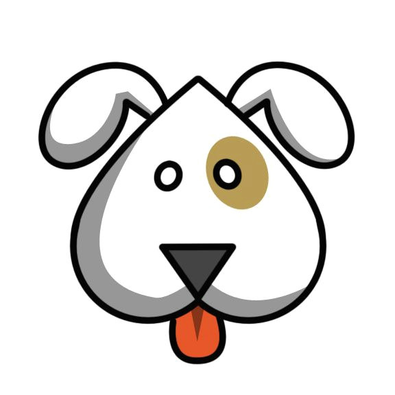 how to draw an easy cute cartoon dog via wikihow com
