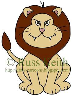how to draw cartoons lion cartoon lion easy drawings cartoon drawings simple