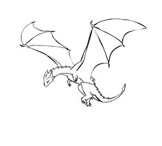 a dragon flying kind of a weird pin but still pretty cool