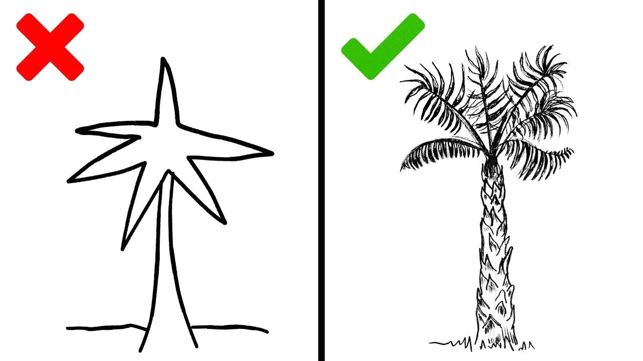 20 drawing tricks easy drawing tutorial