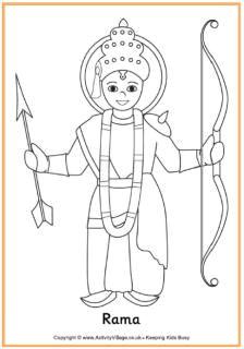 rama colouring page diwali eyfs diwali craft diwali activities multicultural activities diwali