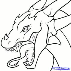 draw a dragon realistic dragon step by step drawing sheets