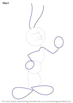 learn how to draw bugs bunny bugs bunny step by step drawing tutorials