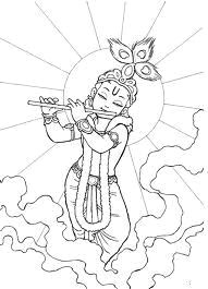 images of line drawing krishna google search