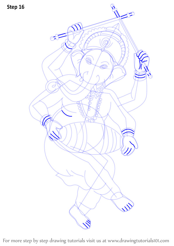 Easy Drawing God Learn How to Draw Lord Ganesha Hinduism Step by Step Drawing