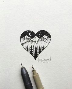 simple illustration by artist sam larson