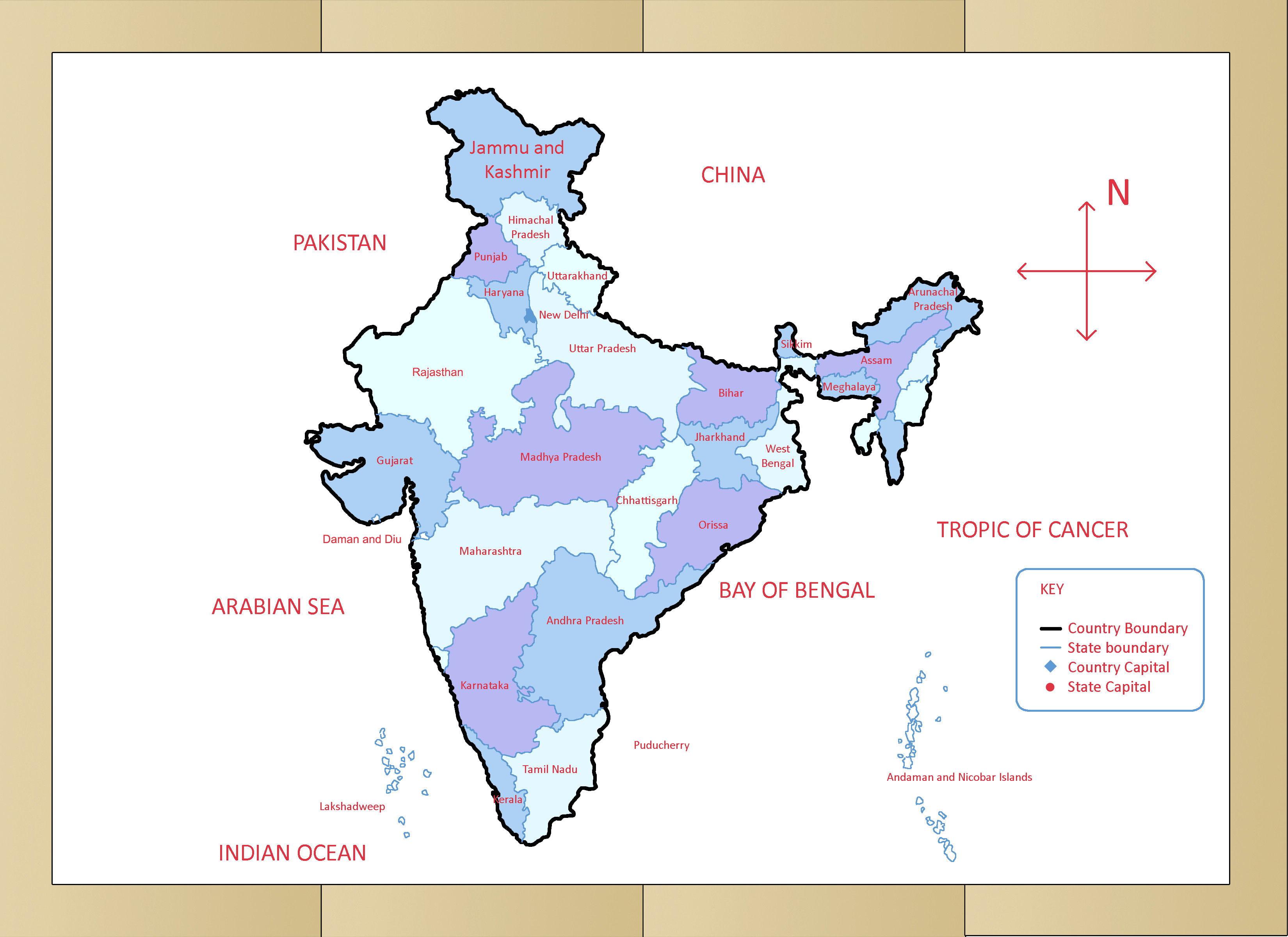 Easy Drawing India Map How to Draw the Map Of India with Pictures Wikihow