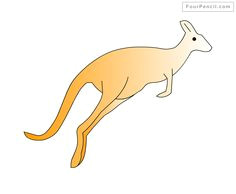how to draw kangaroo for kids step by step drawing tutorial draw kangaroo for kids step by step easy