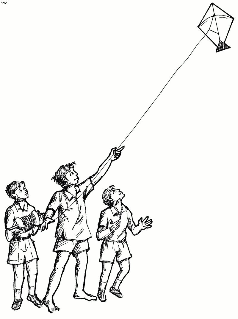 drawing of makar sankranti free kite coloring pages alltoys for photo drawing of