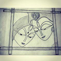 deetangle art on instagram drawing art handdrawn krishna krishnaconsciousness lordkrishna harekrishna haribol iskcon pencildrawing pencilsketch